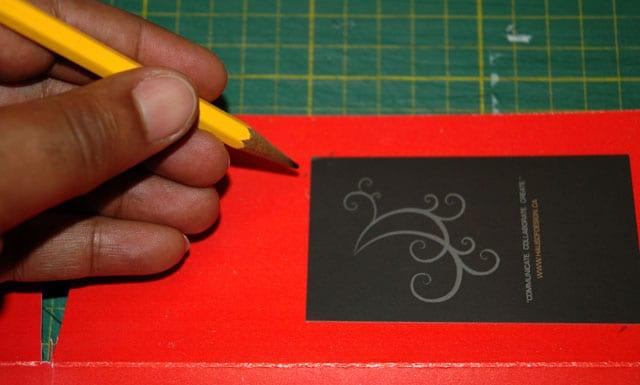 business card trim
