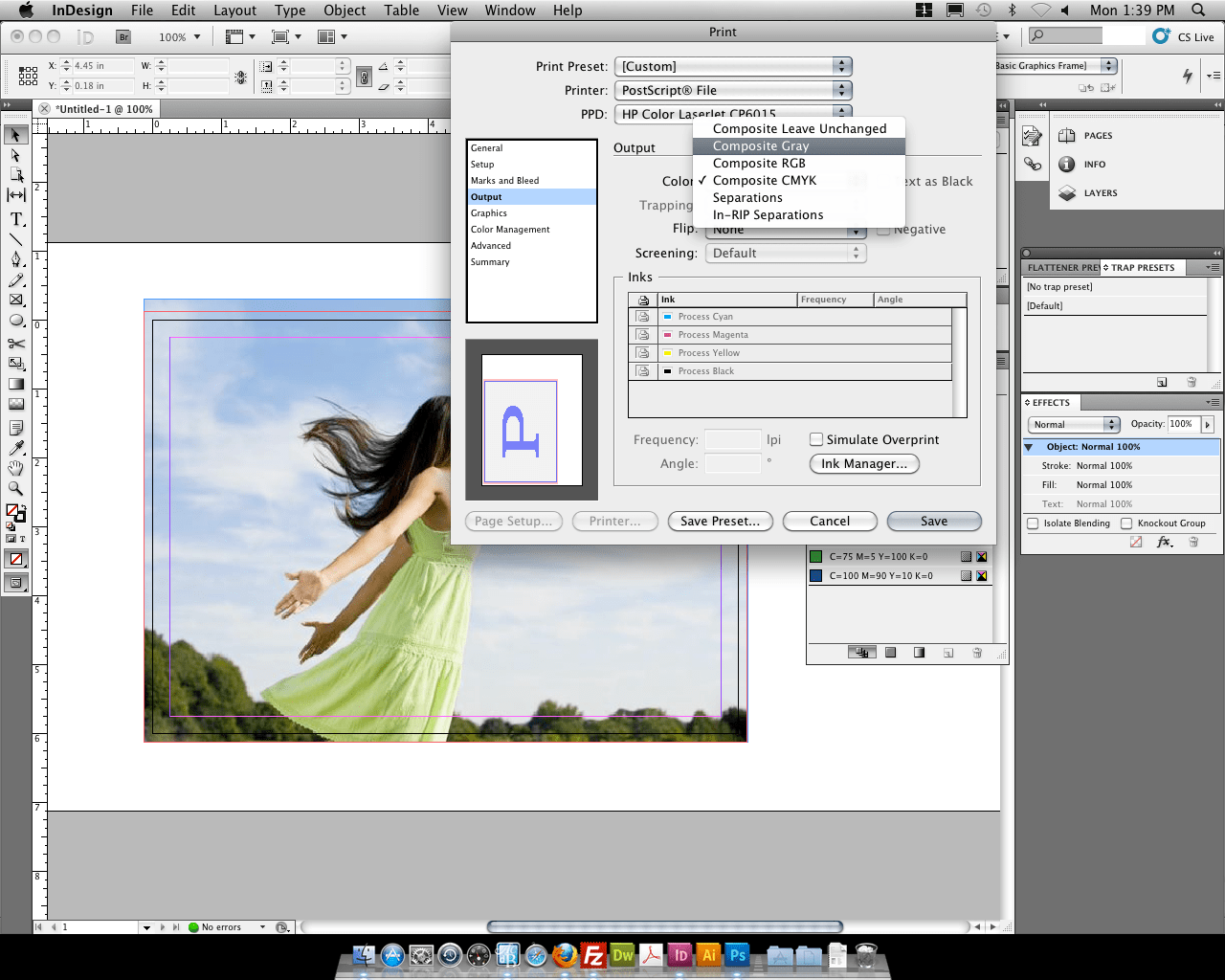 how to open a pdf document in indesign