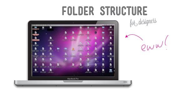 Folder Structure for Designers