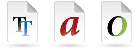Font File Types - mark-anthony.ca