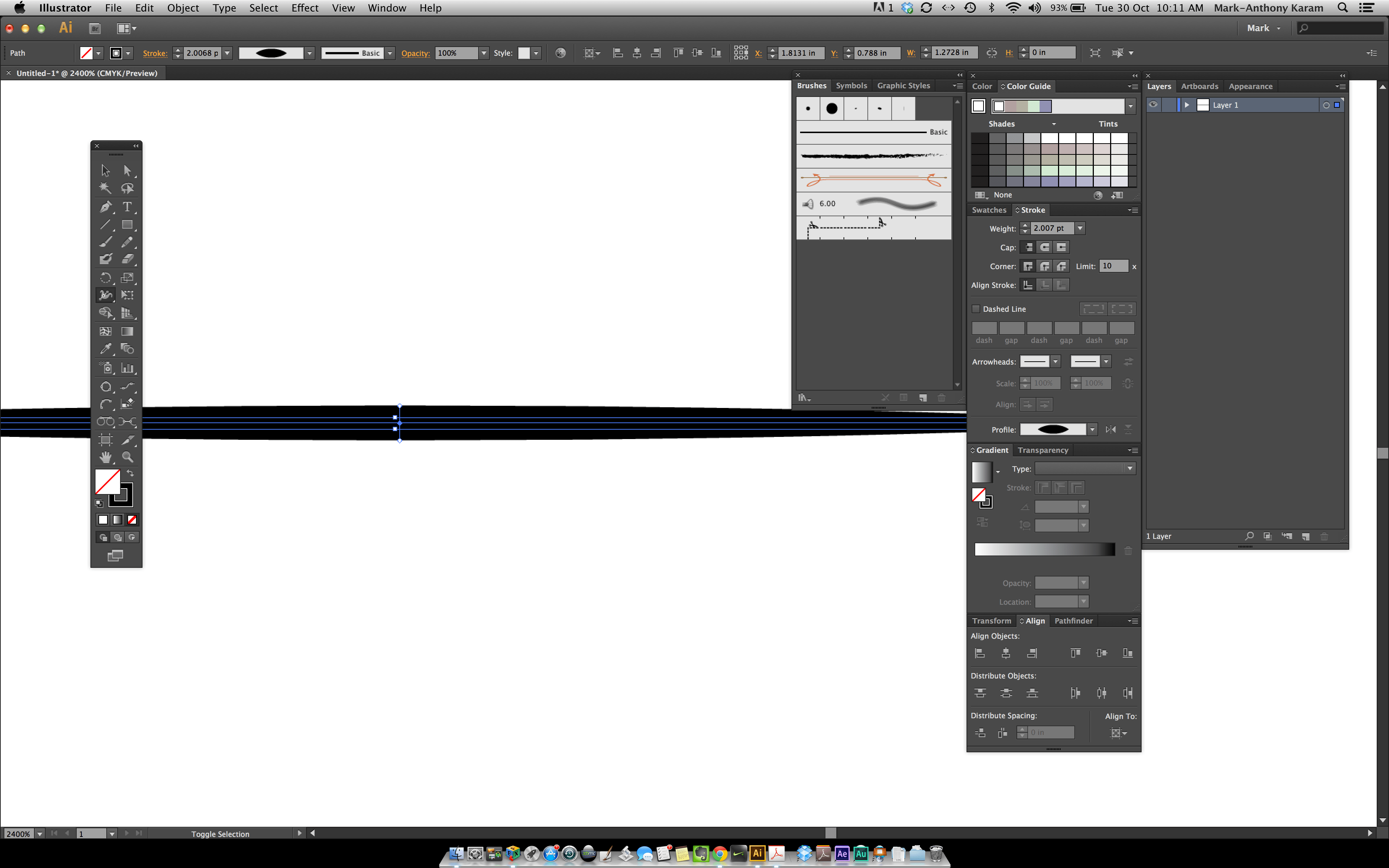how to open brushes panel in illustrator shortcut