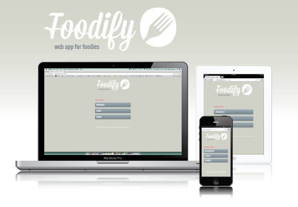 Foodify Web App