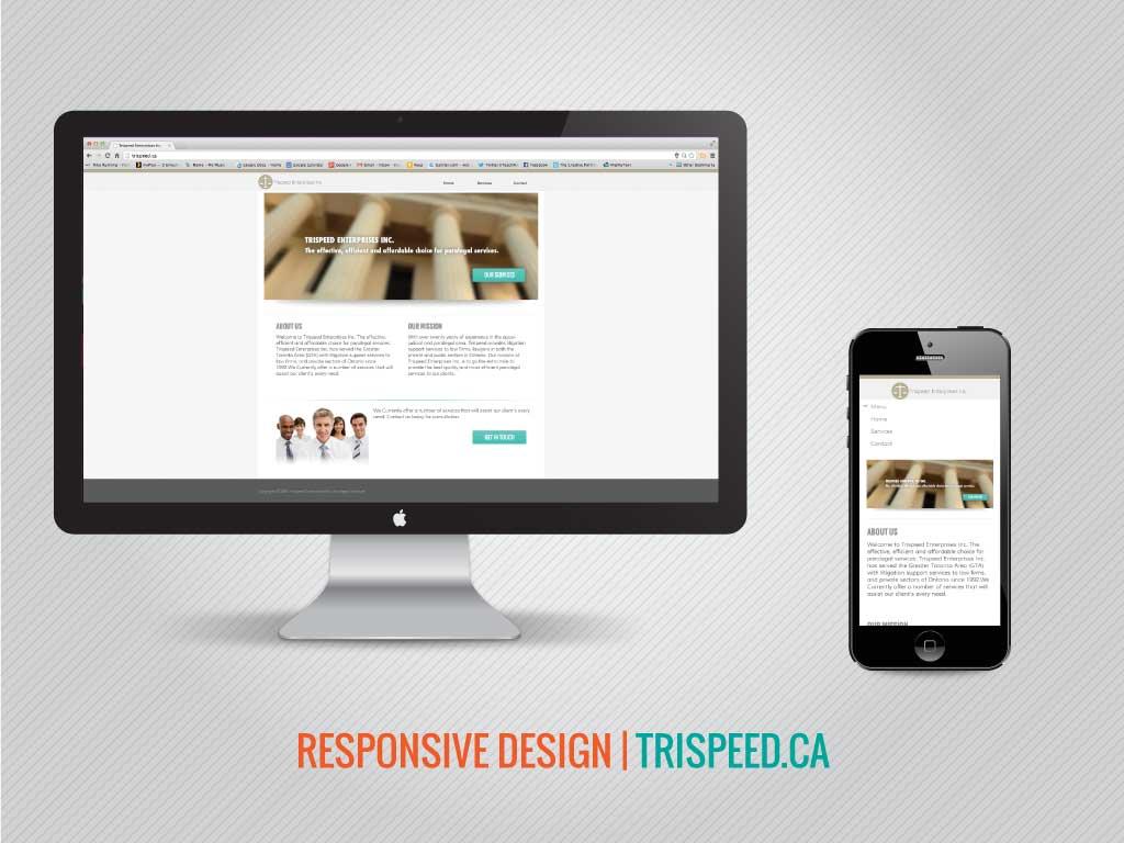 Trispeed.ca Responsive Web Redesign