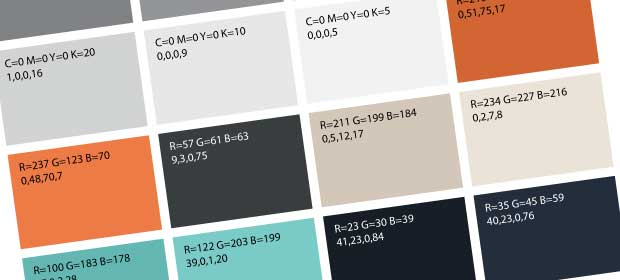 Rendering Script Converts Swatches To RGB & CMYK Values Using Adobe Illustrator