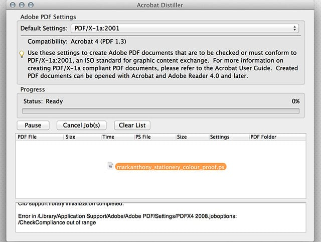 how to use adobe distiller to create pdf