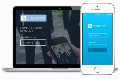 Snapshot Photo App Logo & Brand Identity