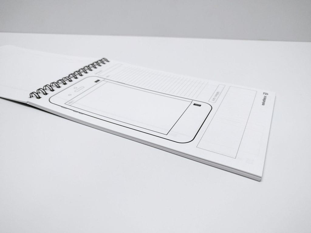 UI/UX Sketchbook Mobile