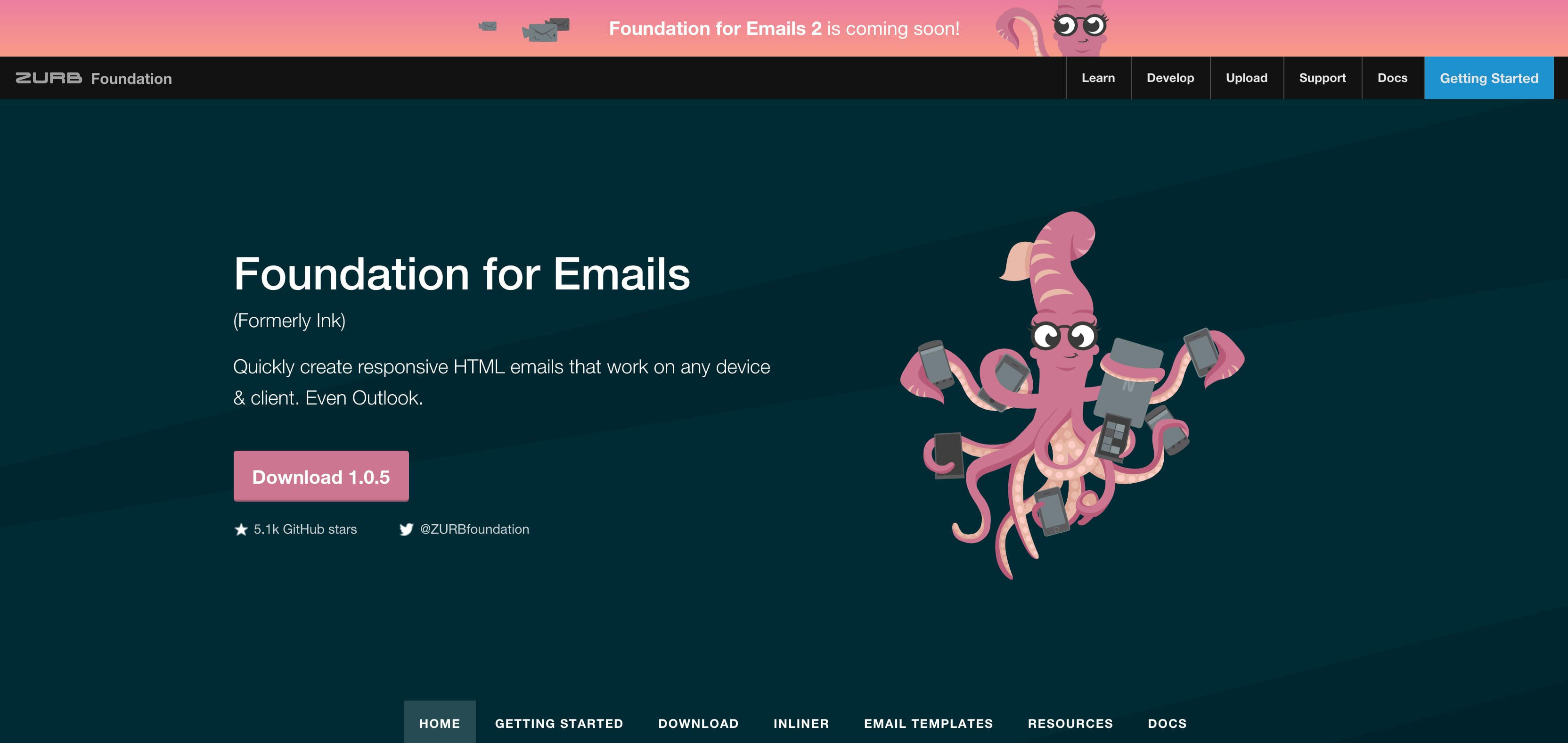 Foundation Email web design tools