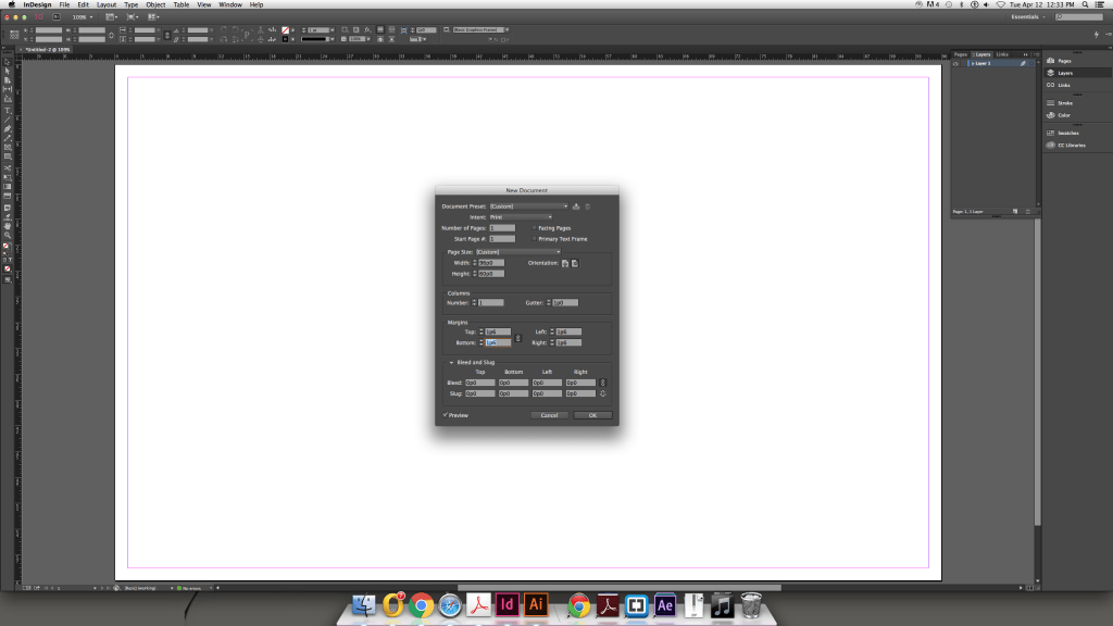 Modular Grids InDesign