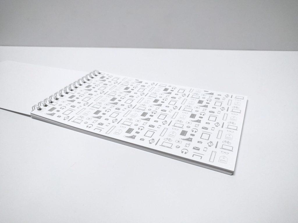 Grid Sketchbook Pattern
