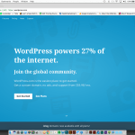 Get Started WordPress
