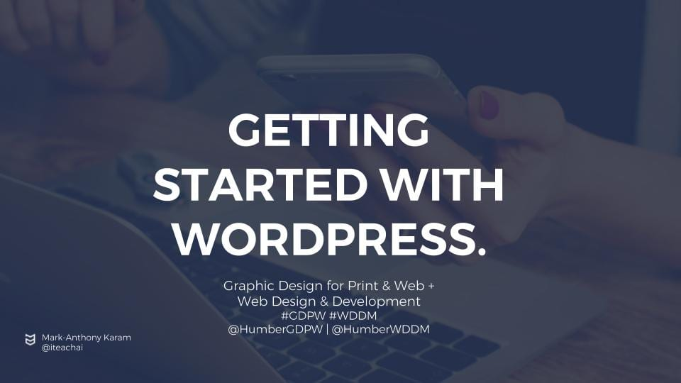 Getting Started with WordPress.com