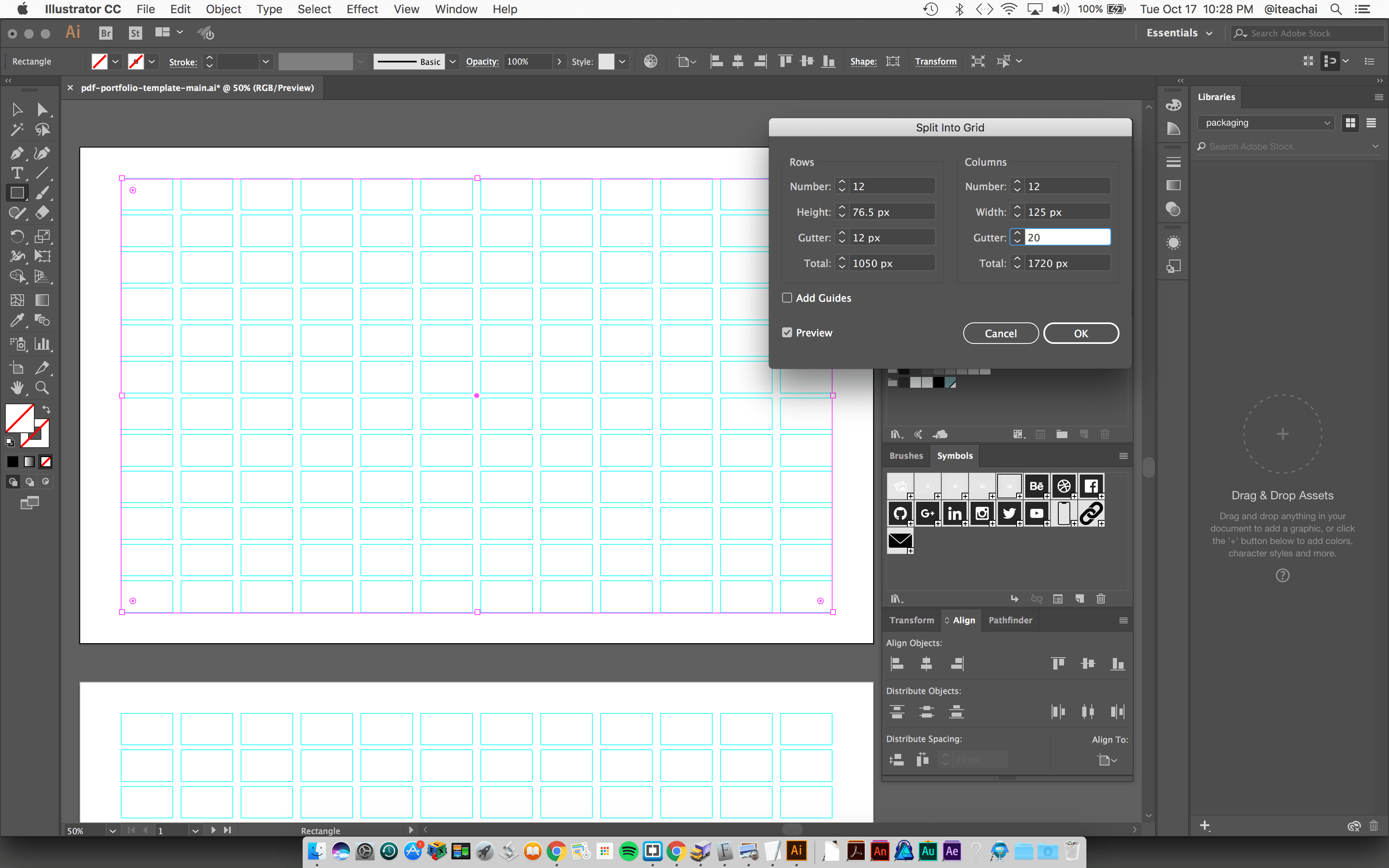 Create a PDF Portfolio Using Adobe Illustrator - mark-anthony ca