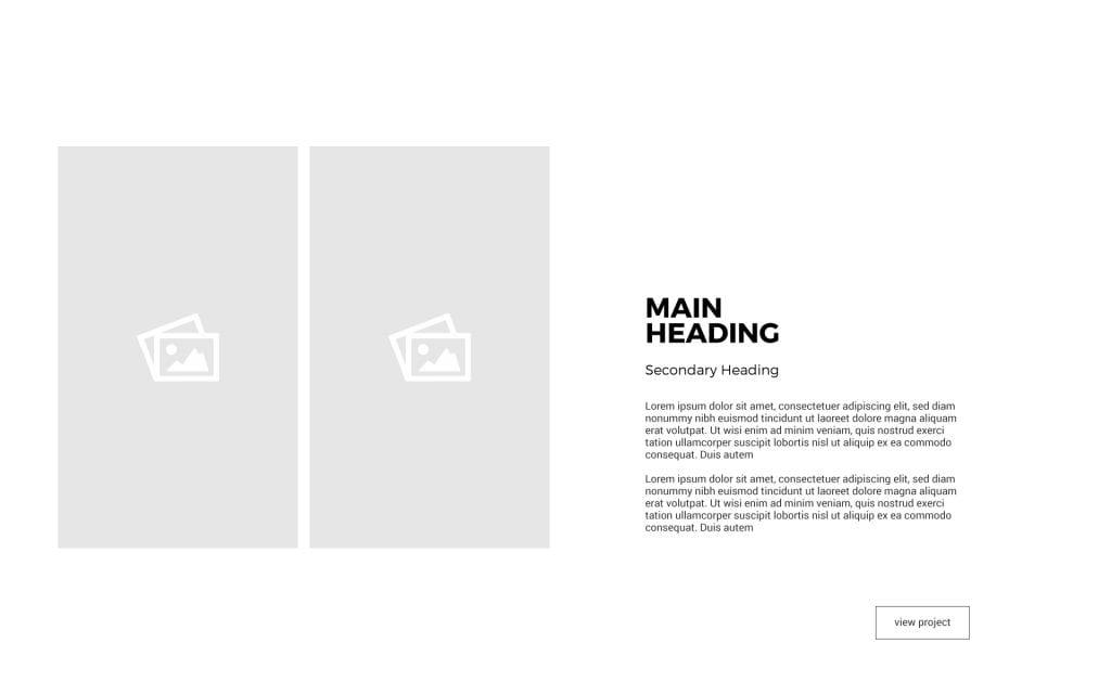 PDF Portfolio Template Layout 3