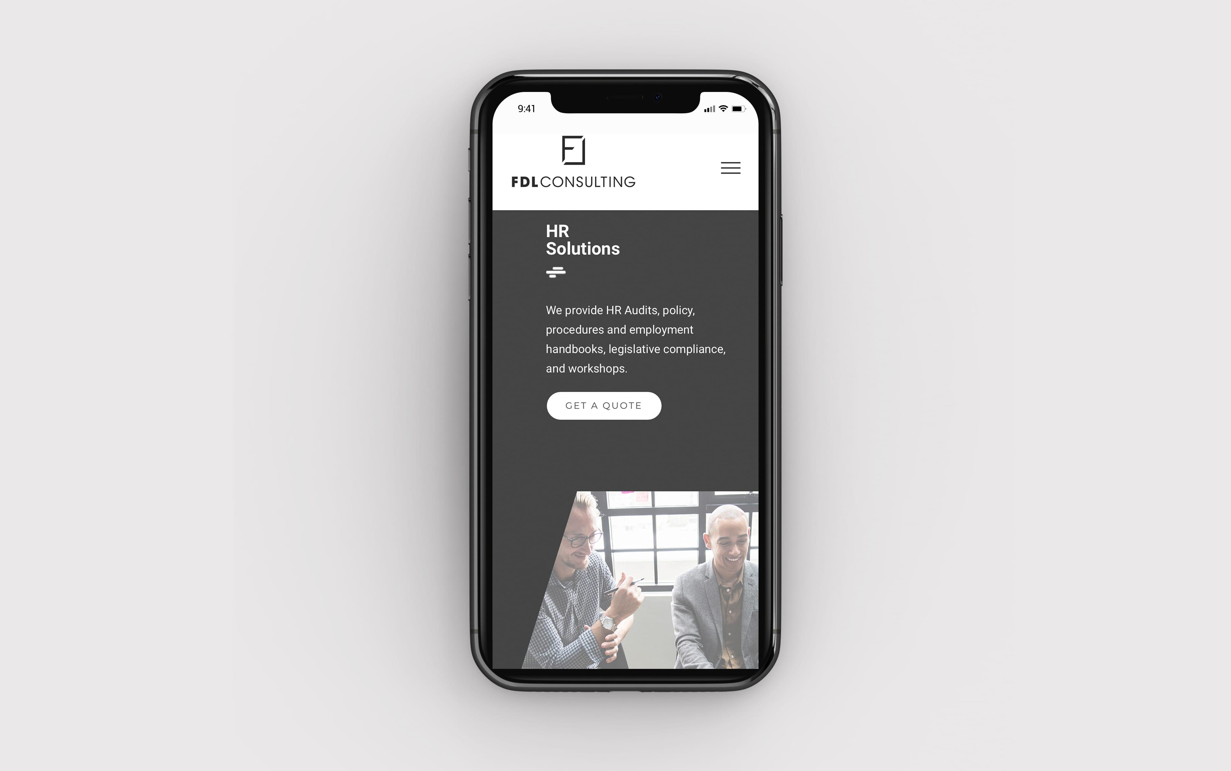 fdl consulting responsive design