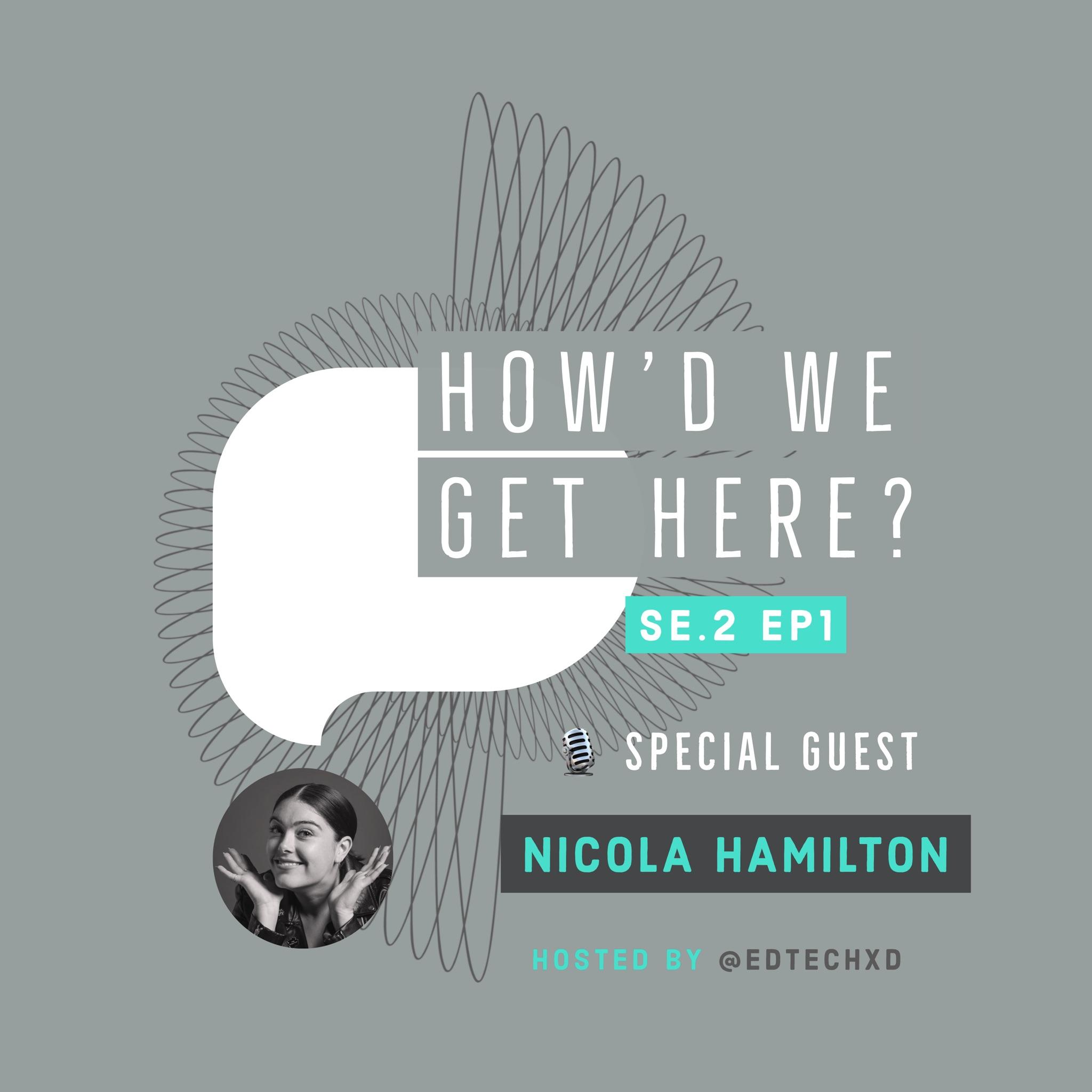 How'd we get here? podcast season 2 episode 1. Nicola Hamilton. Professional Personas.